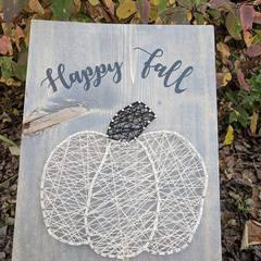 Just for Mom: Fall String Art (FULL)