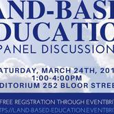 Land-Based Education Panel Discussion