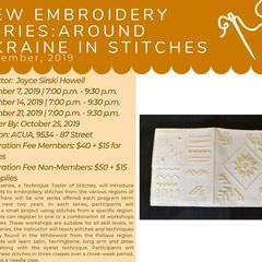 From Around Ukraine in Stitches