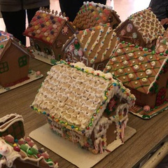 San Jose Woman's Club 8th Annual Gingerbread Decorating Party