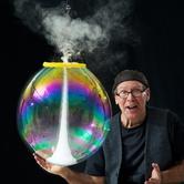 Amazing Bubble Man in SE PDX