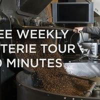 Roasterie Tour - FREE!