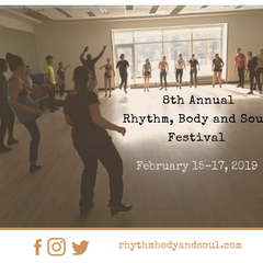 Rhythm, Body and Soul Tap Festival