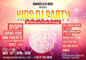 Kids DJ Party