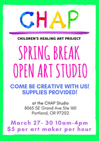 Spring Break Open Art Studio in SE PDX