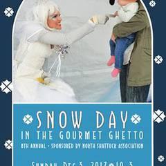 Snow Day in the Berkeley Gourmet Ghetto