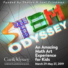 CuriOdyssey STEM Odyssey - Amazing Math Art Experience for Kids