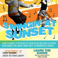 Swingin' at Sunset