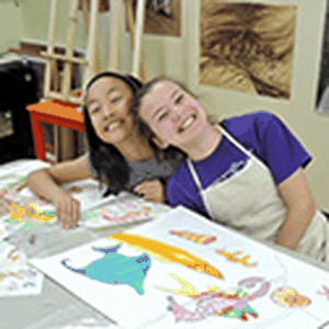 Summer Camps in iCreate art studio for kids and youth 7-16 yrs old
