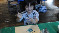 Play with Paint at KidsQuest