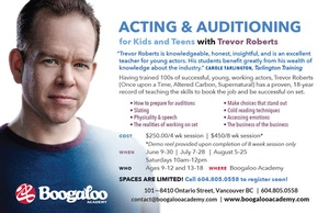 Acting and Auditioning