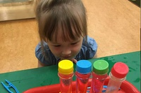 Science Hour at KidsQuest