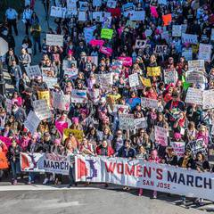 Women's March San Jose 2019 March and Rally