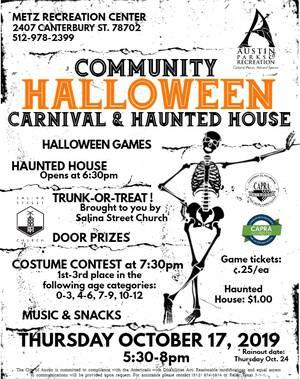 Halloween Carnival and Haunted House