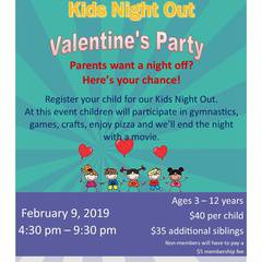 Kids Night Out - Valentine's Party