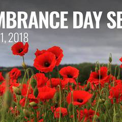 Remembrance Day Ceremony at Fort Calgary