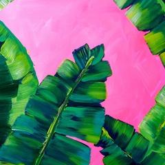 Jungle Leaves: Acrylics Workshop