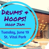 Drums & Hoops! Free Hoop Jam