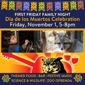 CuriOdyssey's First Friday Family Night - November 1, 5-8pm