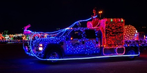 Lighted Truck Parade