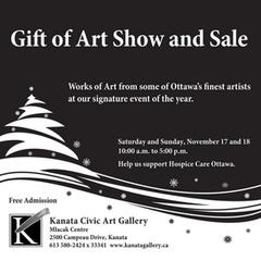 Gift of Art Show and Sale (Ottawa/Kanata)