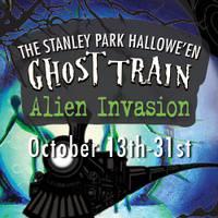 Stanley Park Ghost Train Alien Invasion