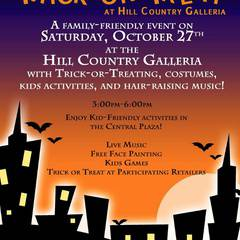 Trick or Treat at Hill Country Galleria