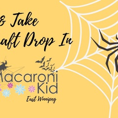 A Halloween Make & Take Craft Drop In
