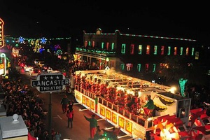 Carol of Lights Downtown Grapevine