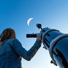 Evening Telescope Observing
