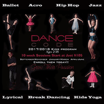Dance Code Kids Program's promotion image