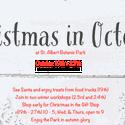 Christmas in October at St. Albert Botanic Park