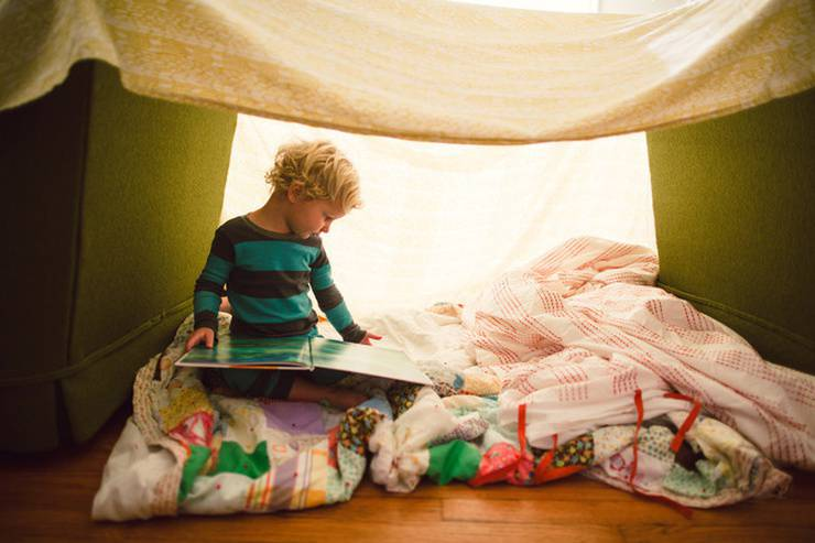 Weekend Activity Build Your Own Epic Blanket Fort