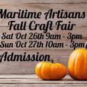 Maritime Artisans Fall Craft Fair