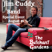 Entertainment Special Event: The Jim Cuddy Band at The Butchart Gardens
