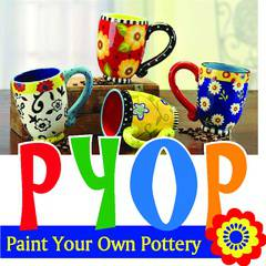 Paint Your Own Pottery - Mobile Parties