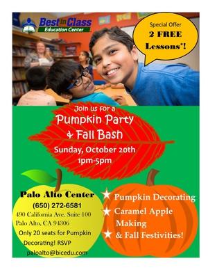 Open House Fall Festival