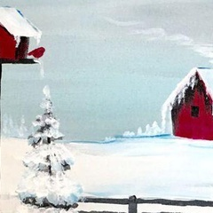 Country Christmas Paint Party