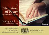 A Celebration of Poetry! at Rutherford House
