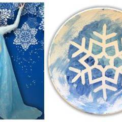 Frozen Party - Paint with Anna & Elsa!
