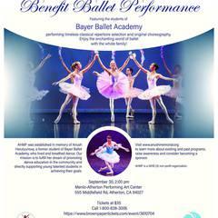 AHMF Benefit Ballet Performance in Atherton