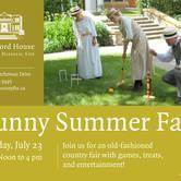 Sunny Summer Fair