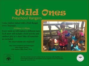 Wild Ones Preschool Rangers