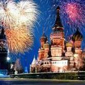 Russian New Year's celebration