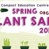 2018 Spring Organic Plant Sale