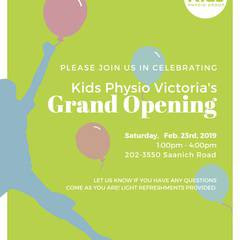 Kids Physio Open House