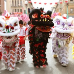 Southwest Airlines Chinese New Year Parade 2019