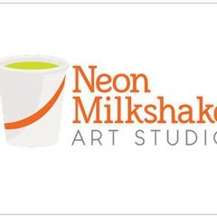 Neon Milkshake Art Studio