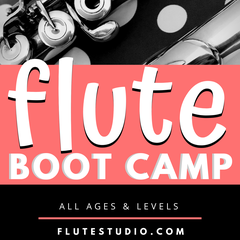 FLUTE BOOT CAMP: Tackling Technical Trickiness