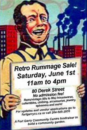 Retro Rummage Sale!